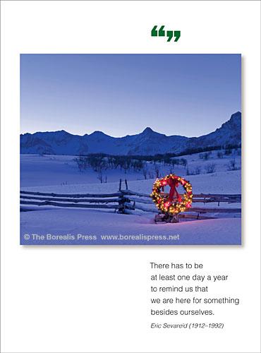 Holiday greeting cards the borealis press inc m4hsunfo